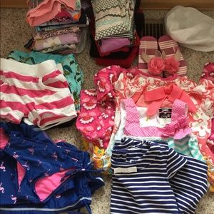 Lot of girls 3-4T sized items. Mostly 4T.